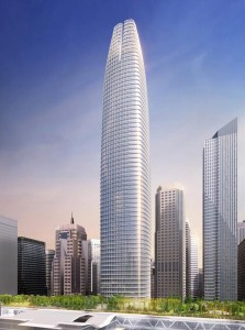 The striking new Transbay Tower